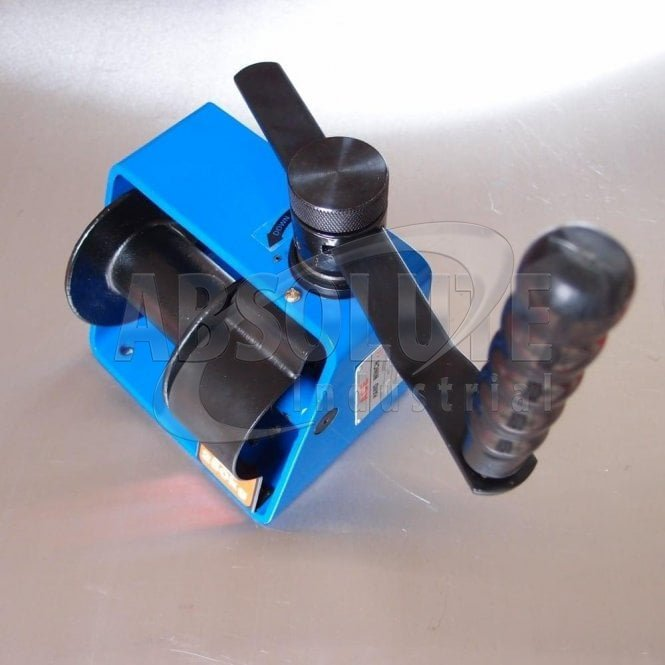 250kg Wormgear Winch: Blue Coated Frame