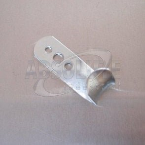 Bolt On Rope Hooks Zinc Plated - Lightweight Pattern