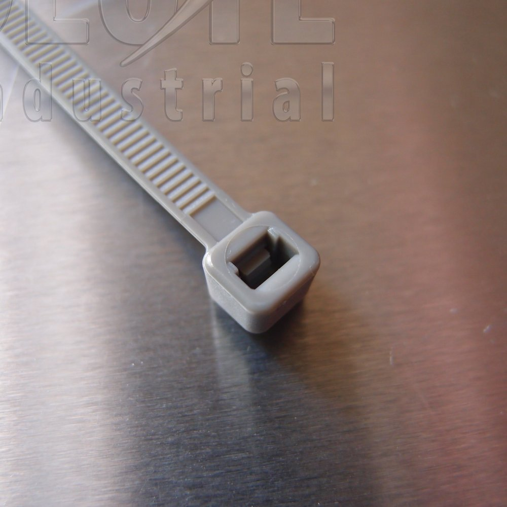Silver Electrical Cable : Cable ties silver per from absolute industrial ltd uk