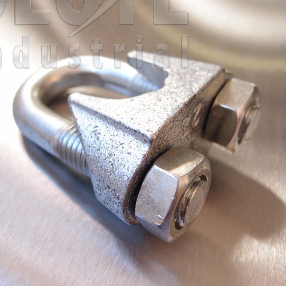 Commercial Wire Rope Grip Din741 Galvanised From
