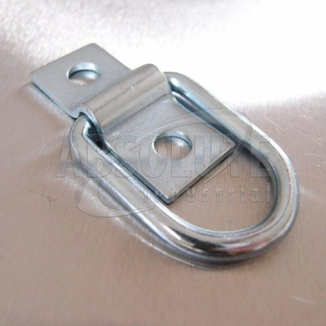 Dee Ring and Mounting Bracket Zinc Plated
