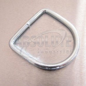 Dee Ring Welded - Zinc Plated