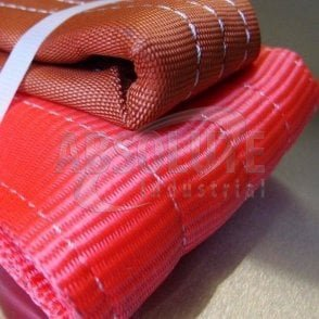 Duplex Webbing Slings to BSEN1492 Part 1 - 5000kg Load - red