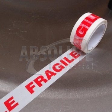 Fragile Low Noise Poly Packaging Tape
