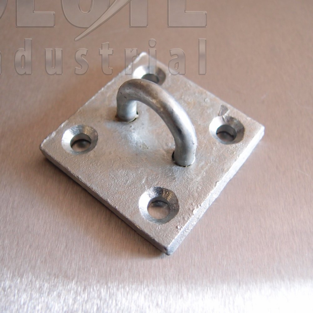 Galvanised Eye Plates Staple On Plate From Absolute