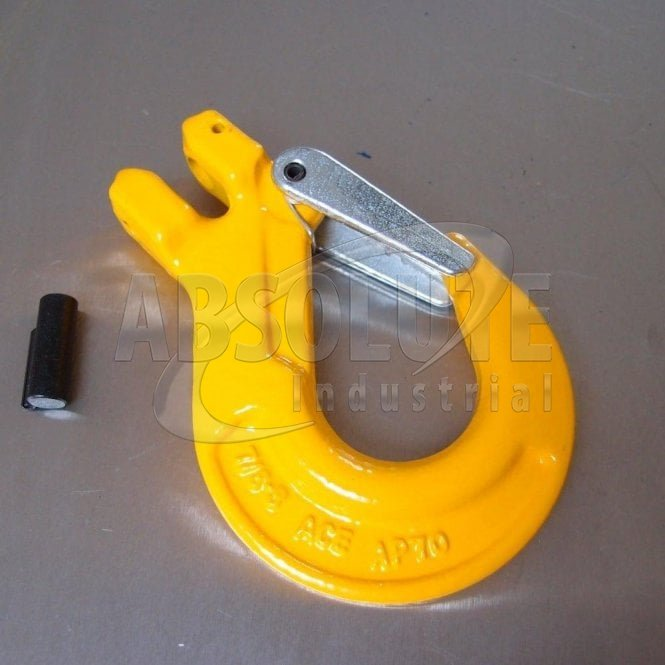 Grade 8 Clevis Sling Hook with Safety Catch