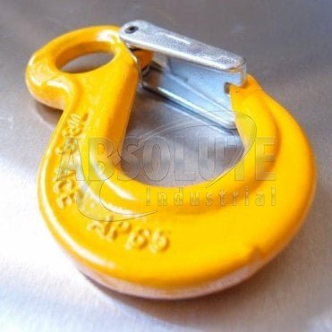 Grade 8 Eye Sling Hook with Safety Catch