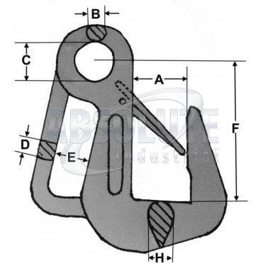 Grade 8 Pipe Hook