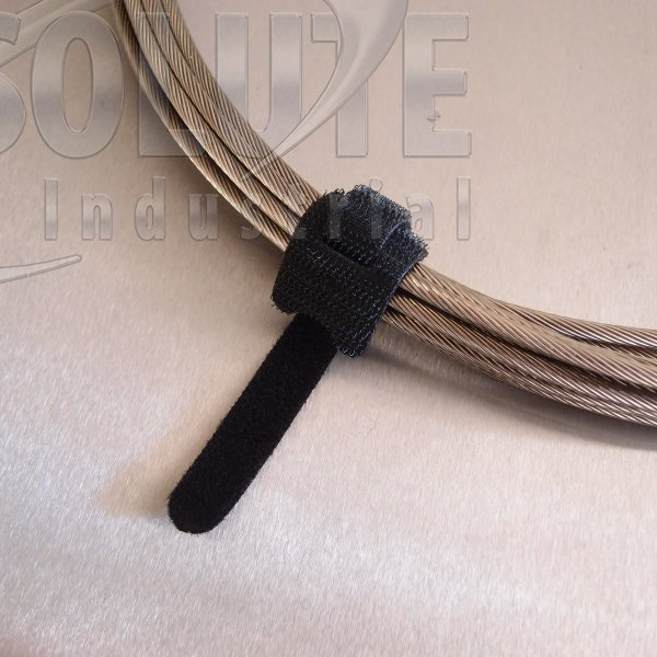 hook and loop cable ties one wrap