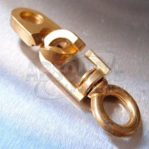 Inglefield Clips / Flag Swivels - Brass