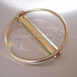 Linch Pins - Apple Keep - Yellow Passivated