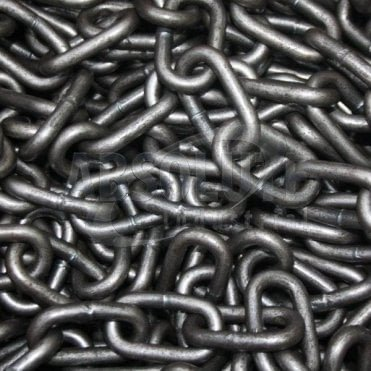 Long Link Chain: Electrically Welded Mild Steel - Self Colour