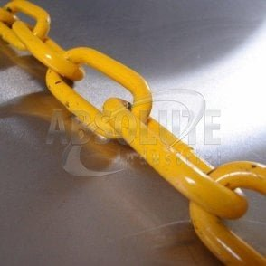 Long Link Lashing/Fishing Chain - Grade 80 Alloy Steel – Yellow Painted