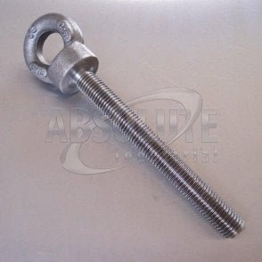 Metric Long Shank Collared Eyebolts To BS 4278