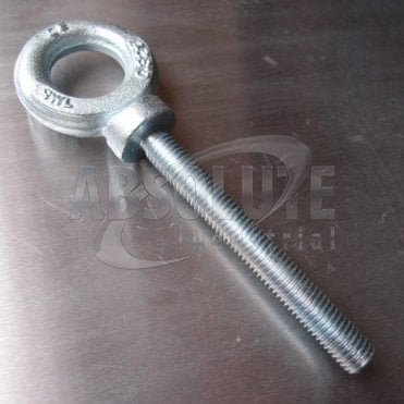 Metric Long Shank Dynamo Eyebolts Zinc Plated