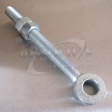 Mild Steel Swingbolts - Gate Eyebolt - With Nuts - Zinc Plated