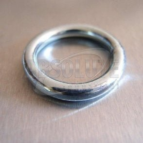 Mild Steel Welded Round Rings - Zinc Plated