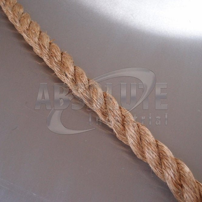 Natural Manila Fibre Traditional Rope - Three Strand - Grade 1