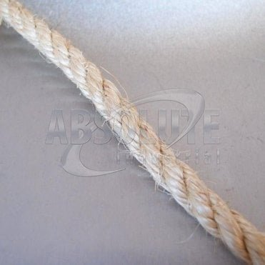 Natural Sisal Fibre Traditional Rope - Three Strand