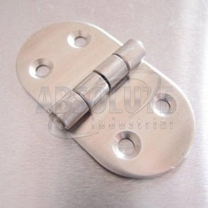 Oval Hinge - Stainless steel AISI316 - Satin Finish