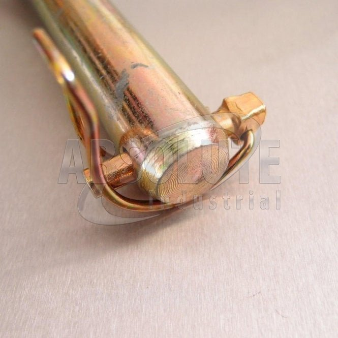 Pipe Linch Pins - Yellow Passivated