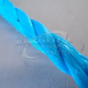 Polypropylene Blue Fibre Rope - Three Strand mini coils 6mm & 10mm