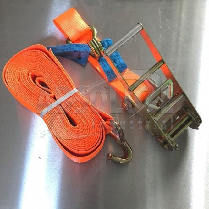 Ratchet Load Straps 75mm 10000kgs MBL EXTRA Heavy Duty