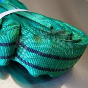 Round Slings Polyester to BSEN1492 Part 2 - 2000kg Load - green