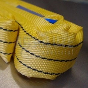 Round Slings Polyester to BSEN1492 Part 2 - 3000kg Load - yellow
