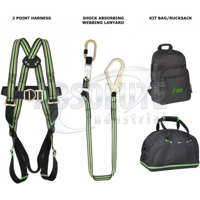 Safety Harness 2 Point Complete Kit - Fall Arrest/Scaffolders