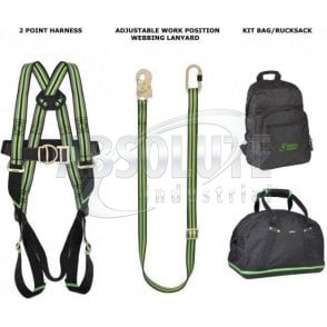 Safety Harness 2 Point Complete Kit - Restraint/Work Position