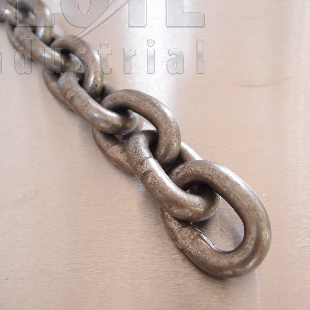 Short Link Chain: GRADE 40 to DIN766 - Self Colour - from