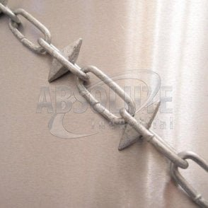 Spiked Chain - Alternate Link - Galvanized
