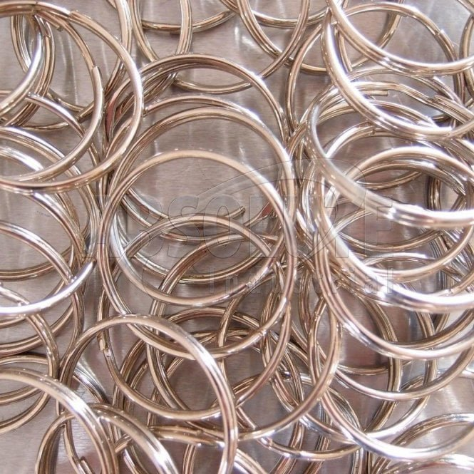 Split Ring (Key Ring) Nickel Plated