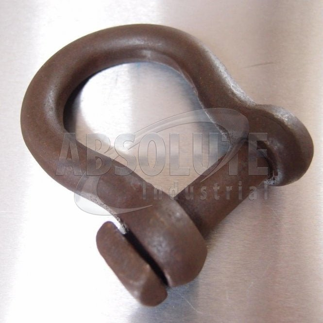 Square Head Bow Shackle - Self Colour