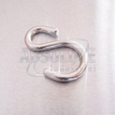 Stainless Steel Asymmetric S Hooks - AISI 316