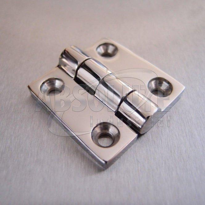 Stainless Steel Butt Hinge - 316 Marine grade