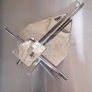 Stainless Steel Cruising / Crown Stock Boat Anchor