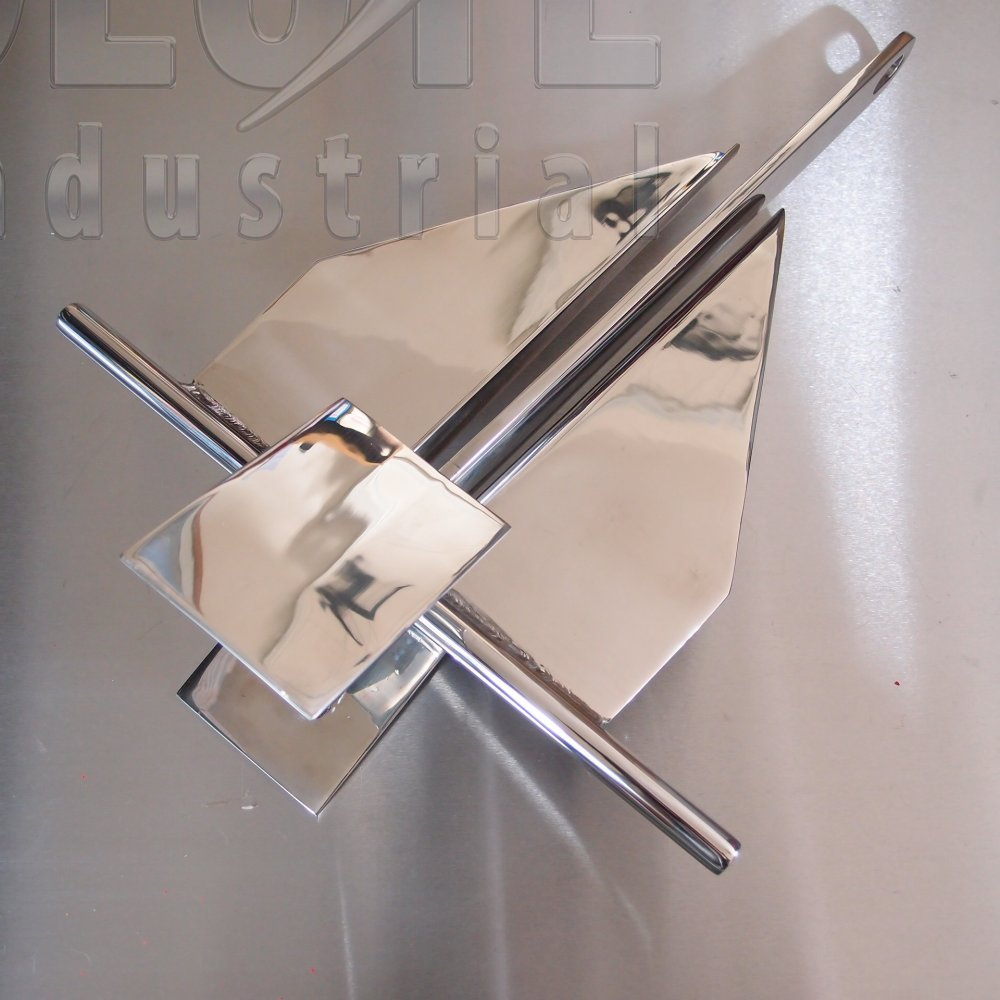 Stainless Steel Cruising Crown Stock Boat Anchor From