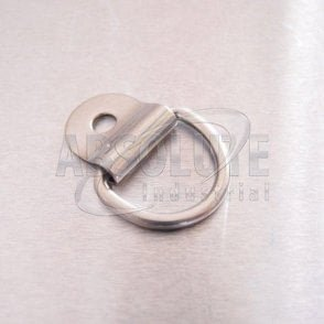 Stainless Steel Dee Ring and Cleat 3mm x 20mm - AISI 316