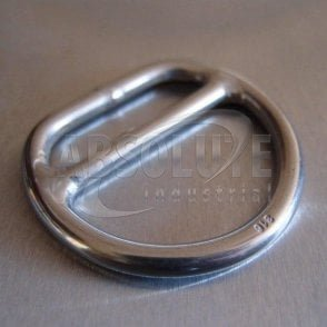 Stainless Steel Double Bar Dee Rings