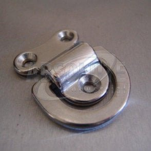 Stainless Steel Folding Pad Eyes - Folding D ring