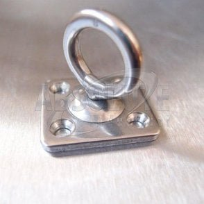 Stainless Steel Four Hole Swivel Eye Plates