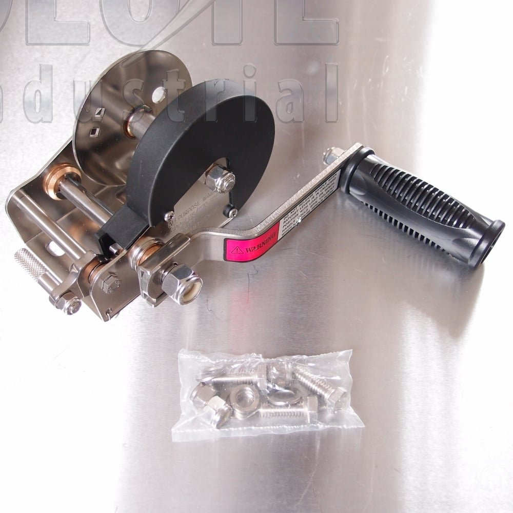 Stainless Steel Hand Winch - Boat Trailer Winch - from