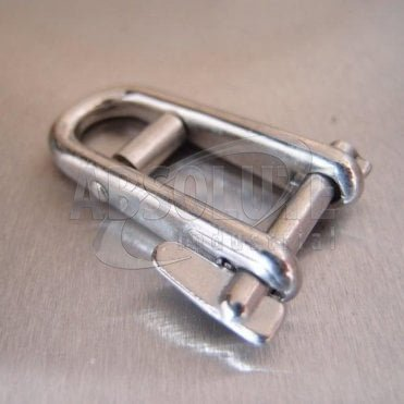 Stainless Steel Key Pin - Double Bar Long Flat - Dee Shackles