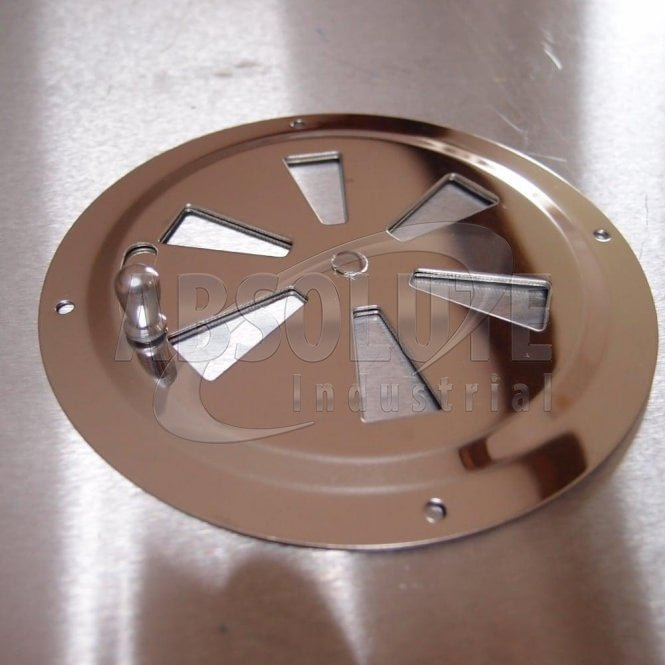 Stainless Steel Lockable Round Vent AISI 304