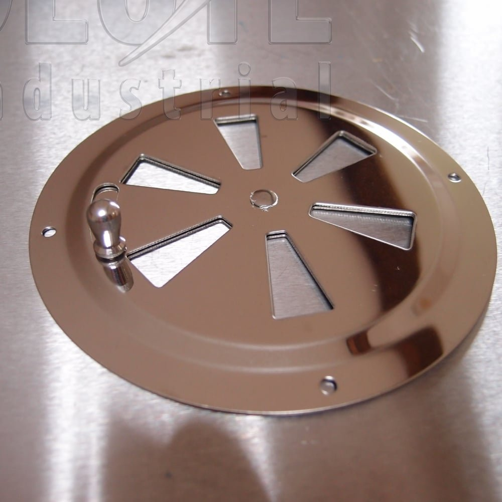 Stainless Steel Lockable Round Vent Aisi 304 From