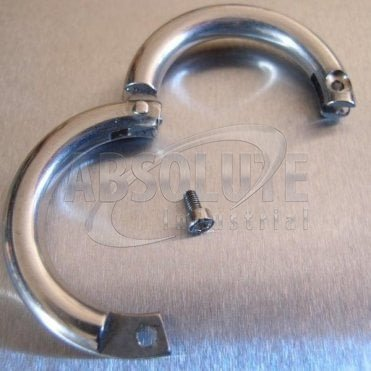 Stainless Steel Lockable Split Round Rings - AISI 316