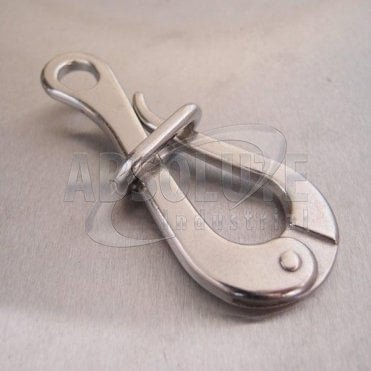 Stainless Steel Pelican Hook with Eye and Link