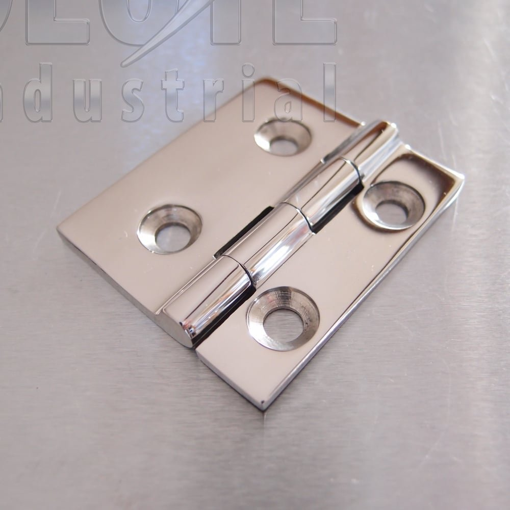 Stainless Steel Small Square Offset Hinges 52mm X 61mm